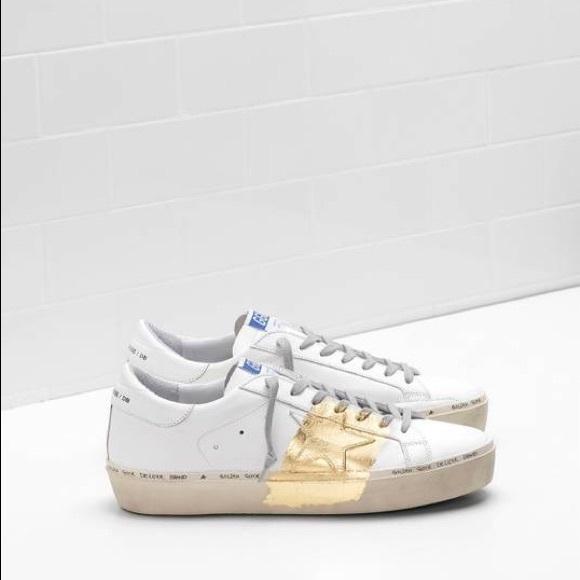 15a877ceea83 Golden Goose Shoes - Golden Goose Deluxe Brand Hi -Star Sneakers